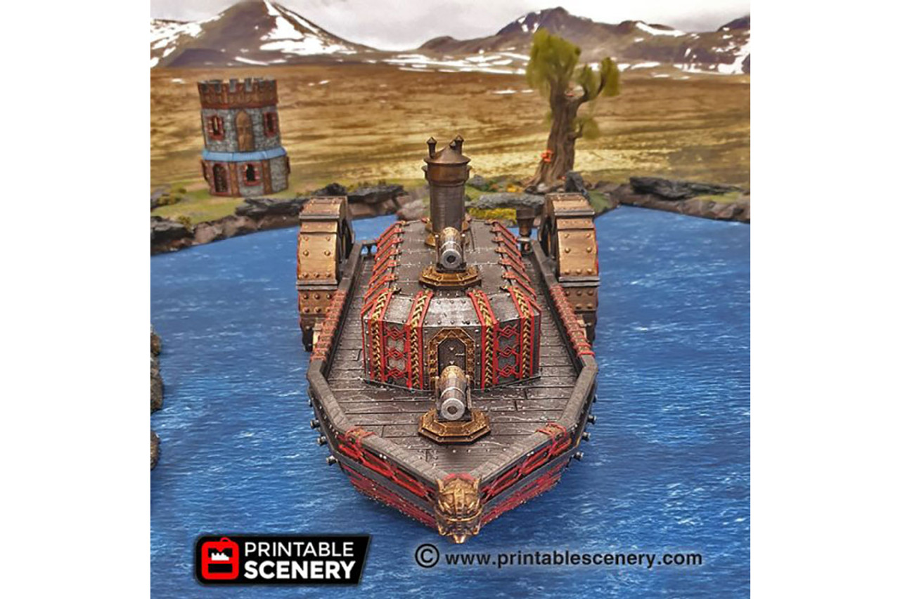The Steam Ironclad