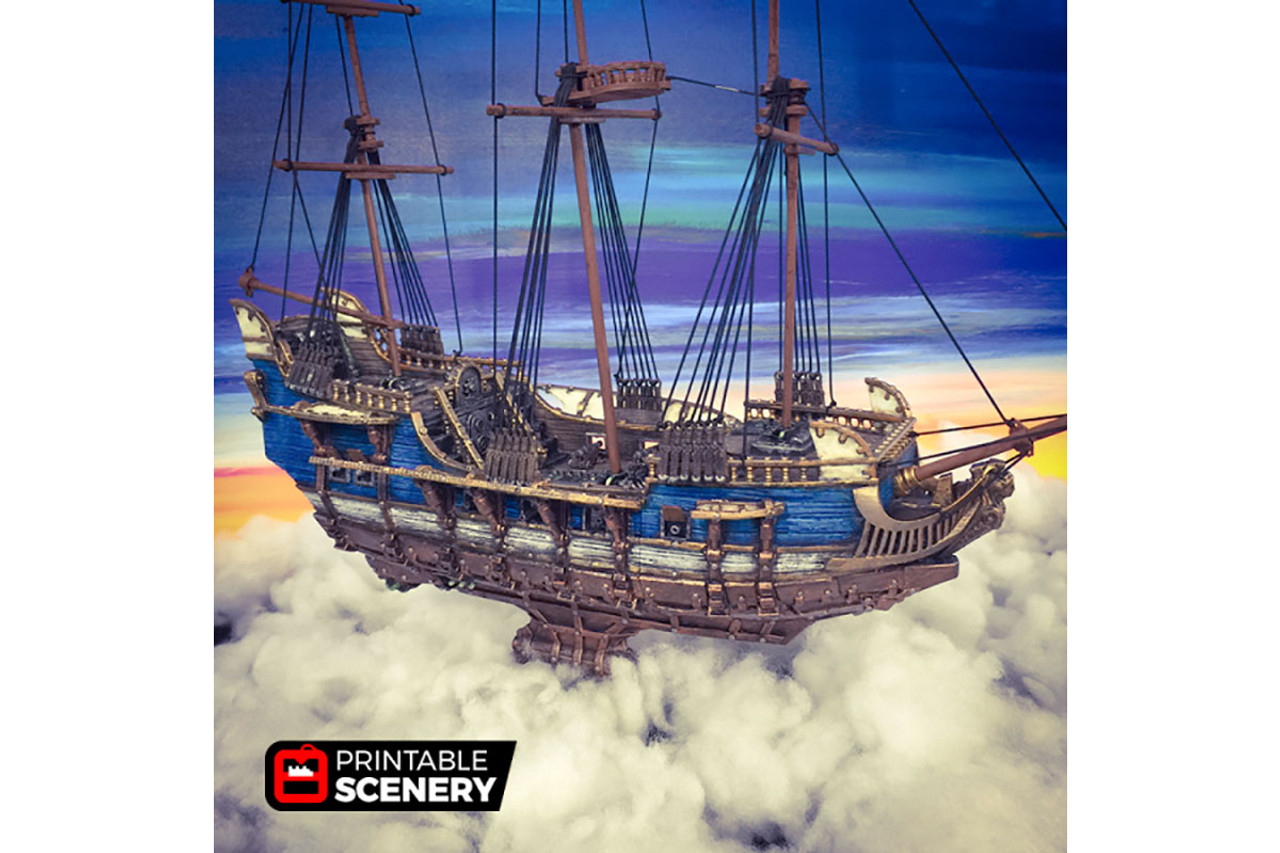 The Flying Frigate