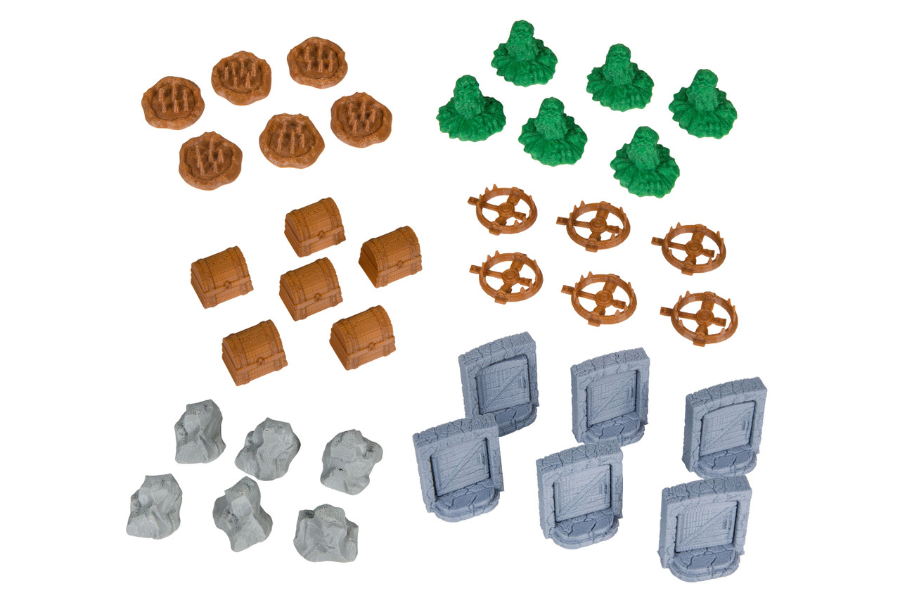 Dungeon Accessories Compatible with Gloomhaven: Adventure Pack 1