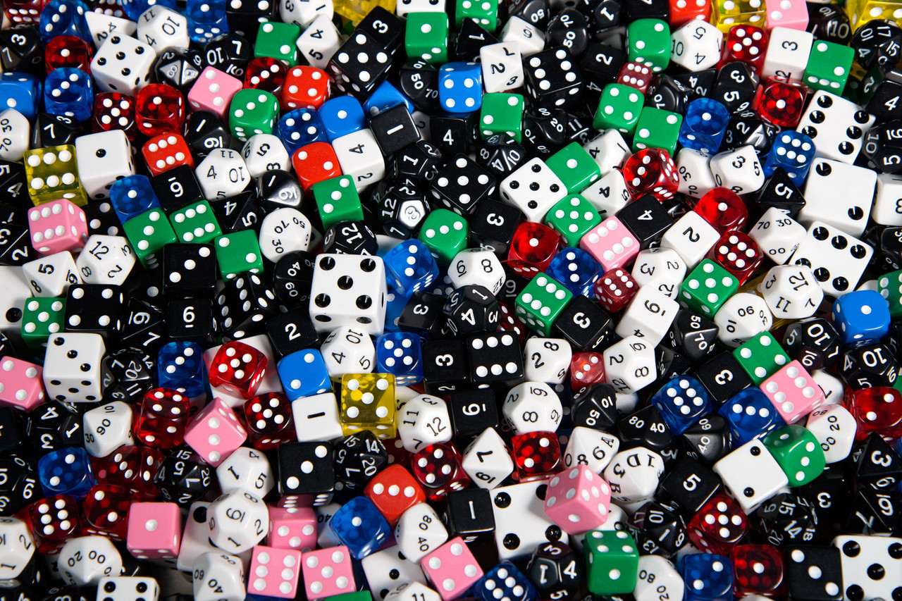 Pound of Dice - Plain