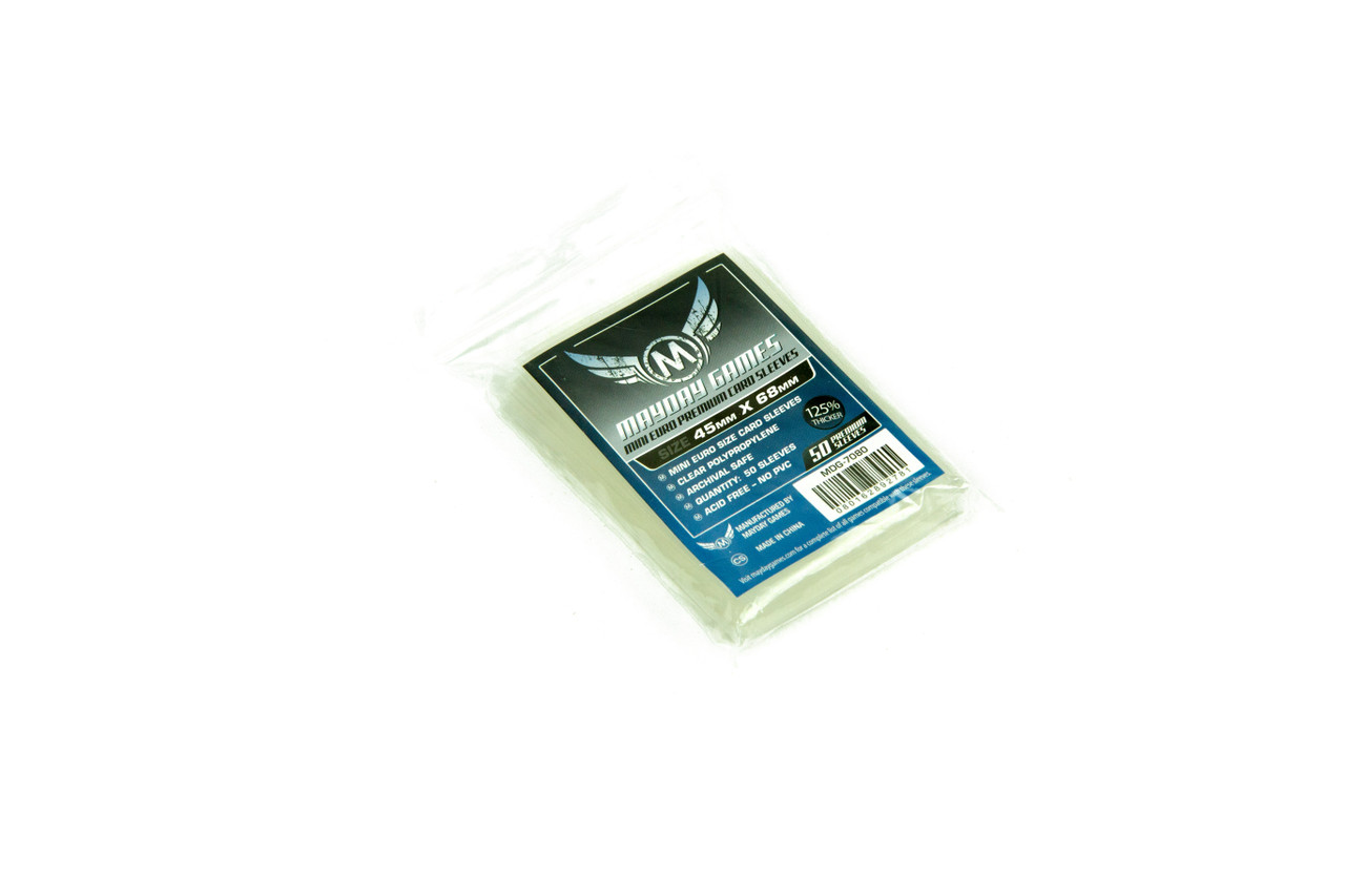 Mayday Premium Mini Euro Card Sleeves (50)