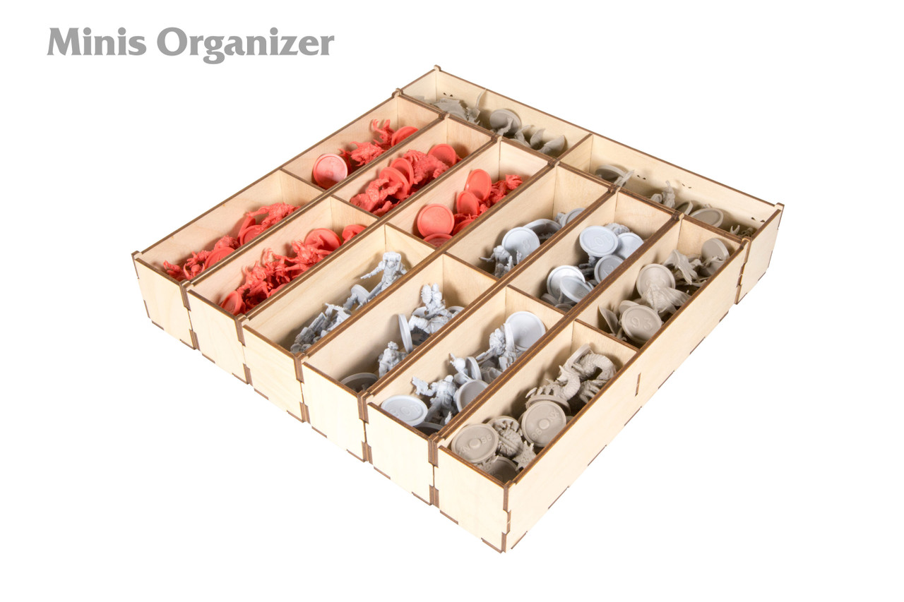 Zombicide Sci-Fi Minis Organizer with components