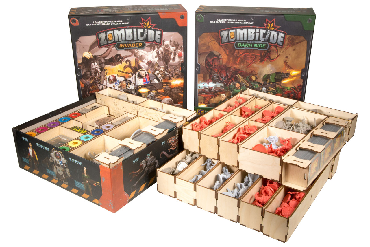 Zombicide Sci-Fi Organizer with Boxes