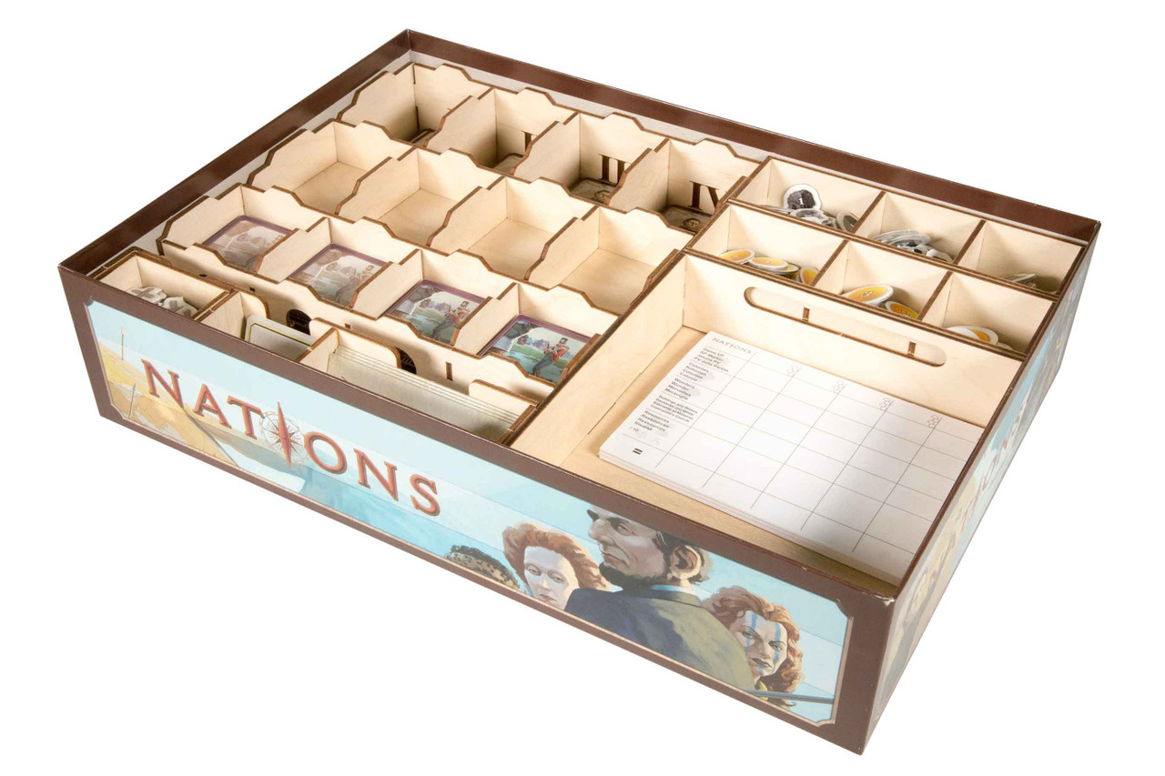 Nations Organizer