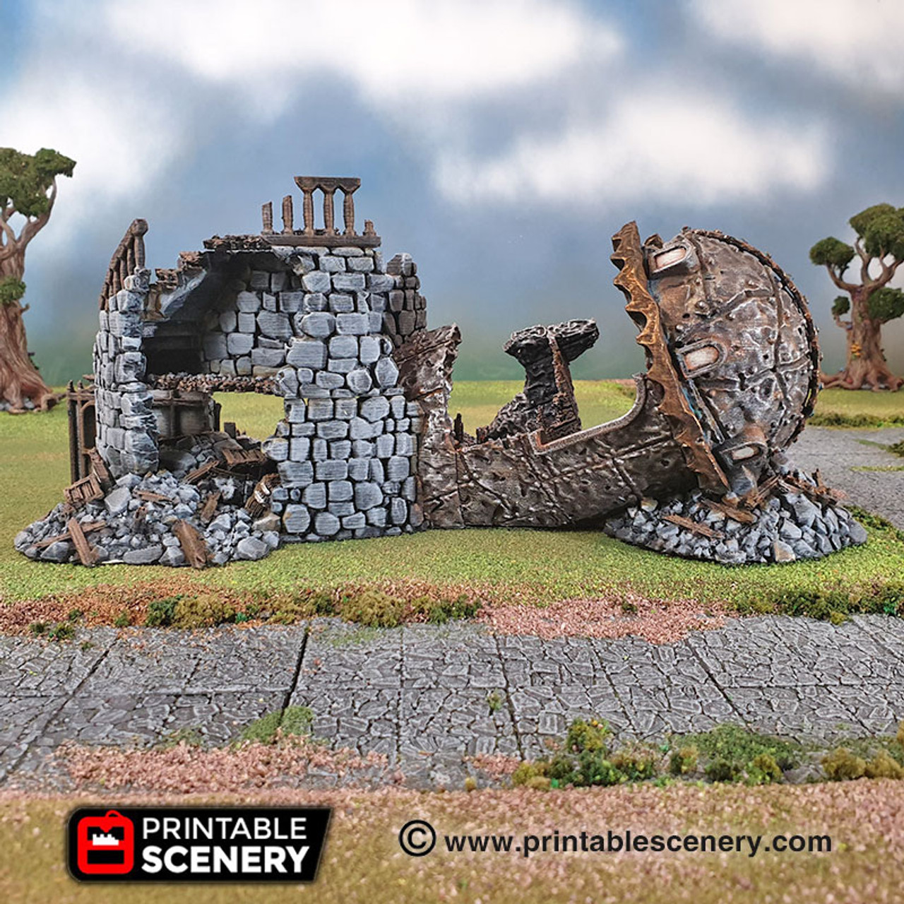 Ruined Observatory