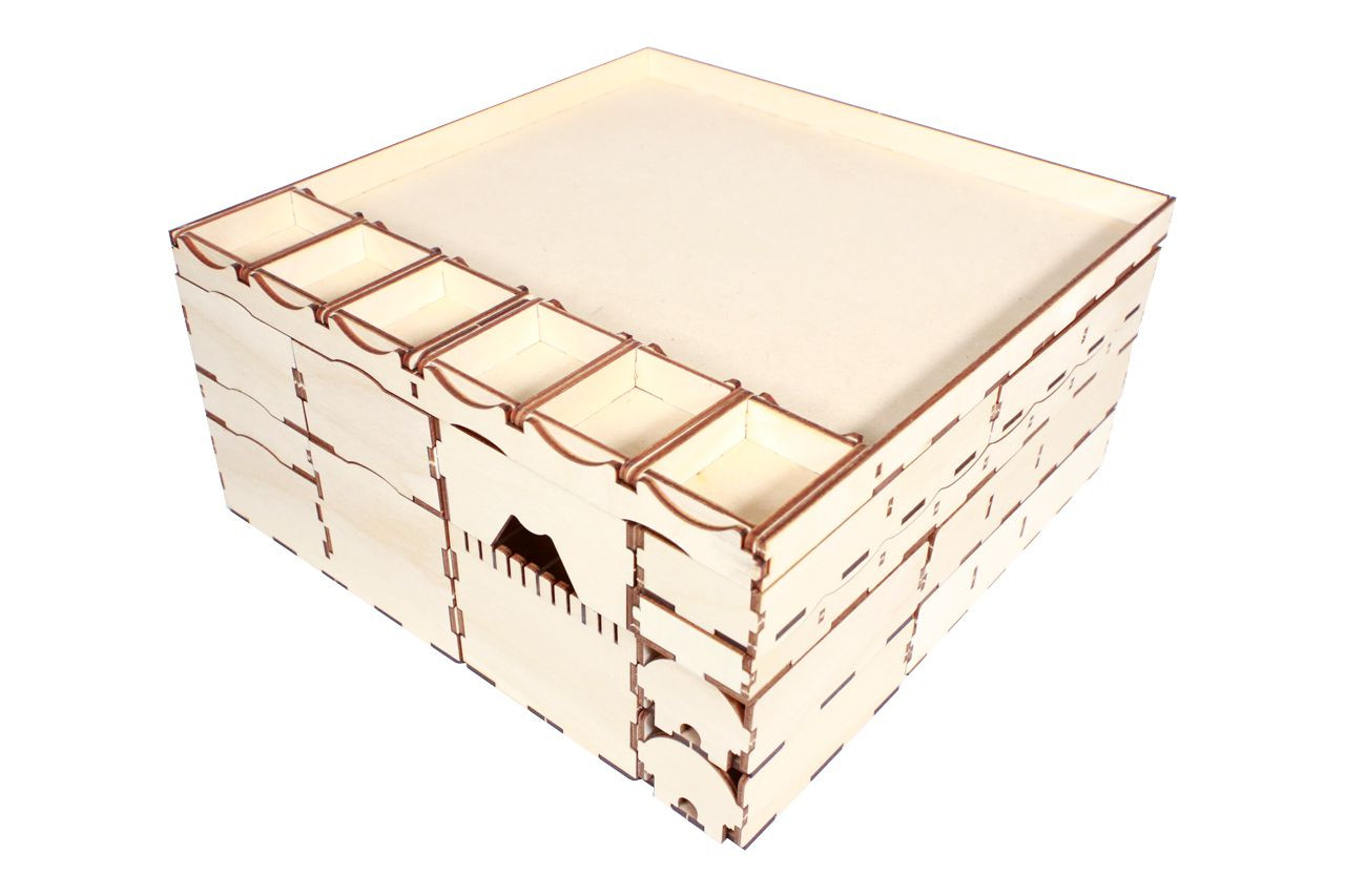 Organizer and Crate Bundle compatible with Spirit Island