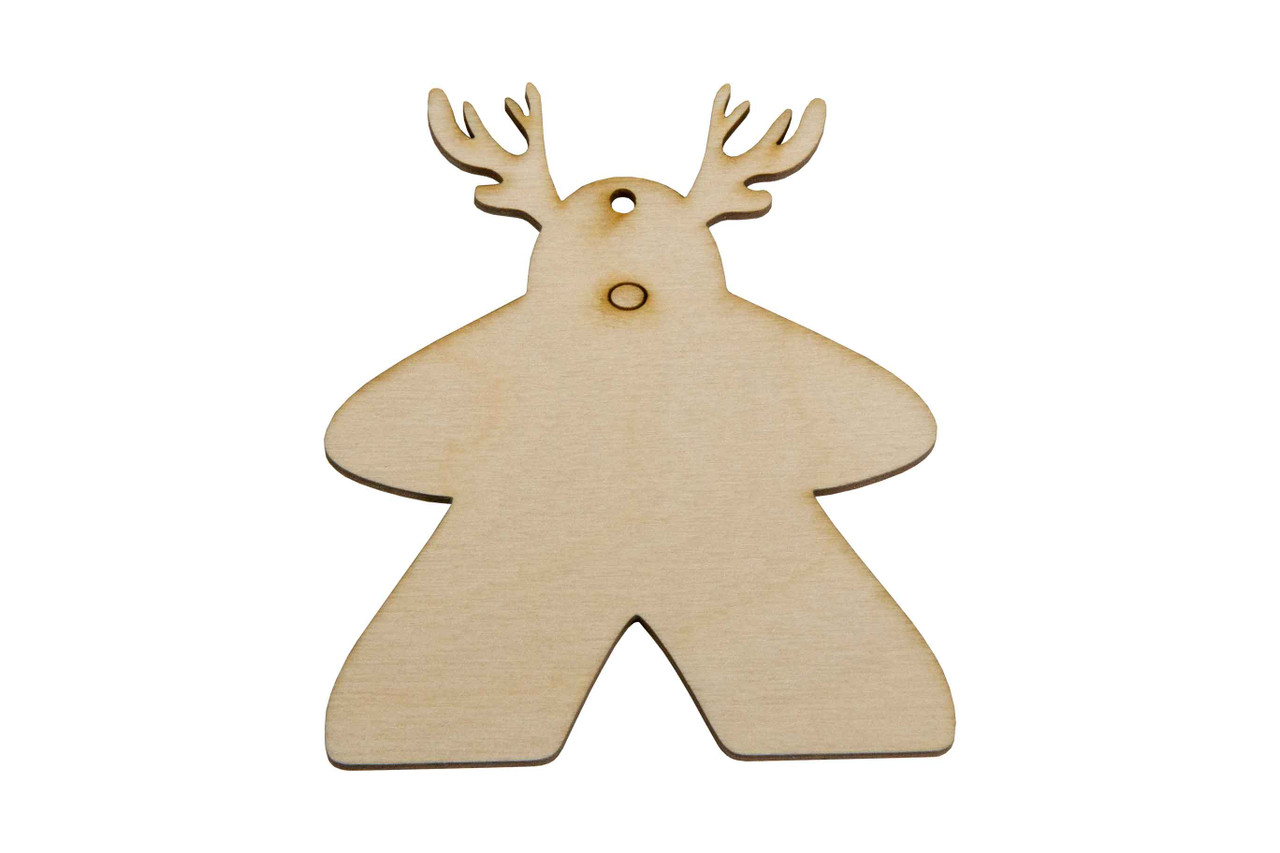 Holiday Ornaments - Meeple (3)