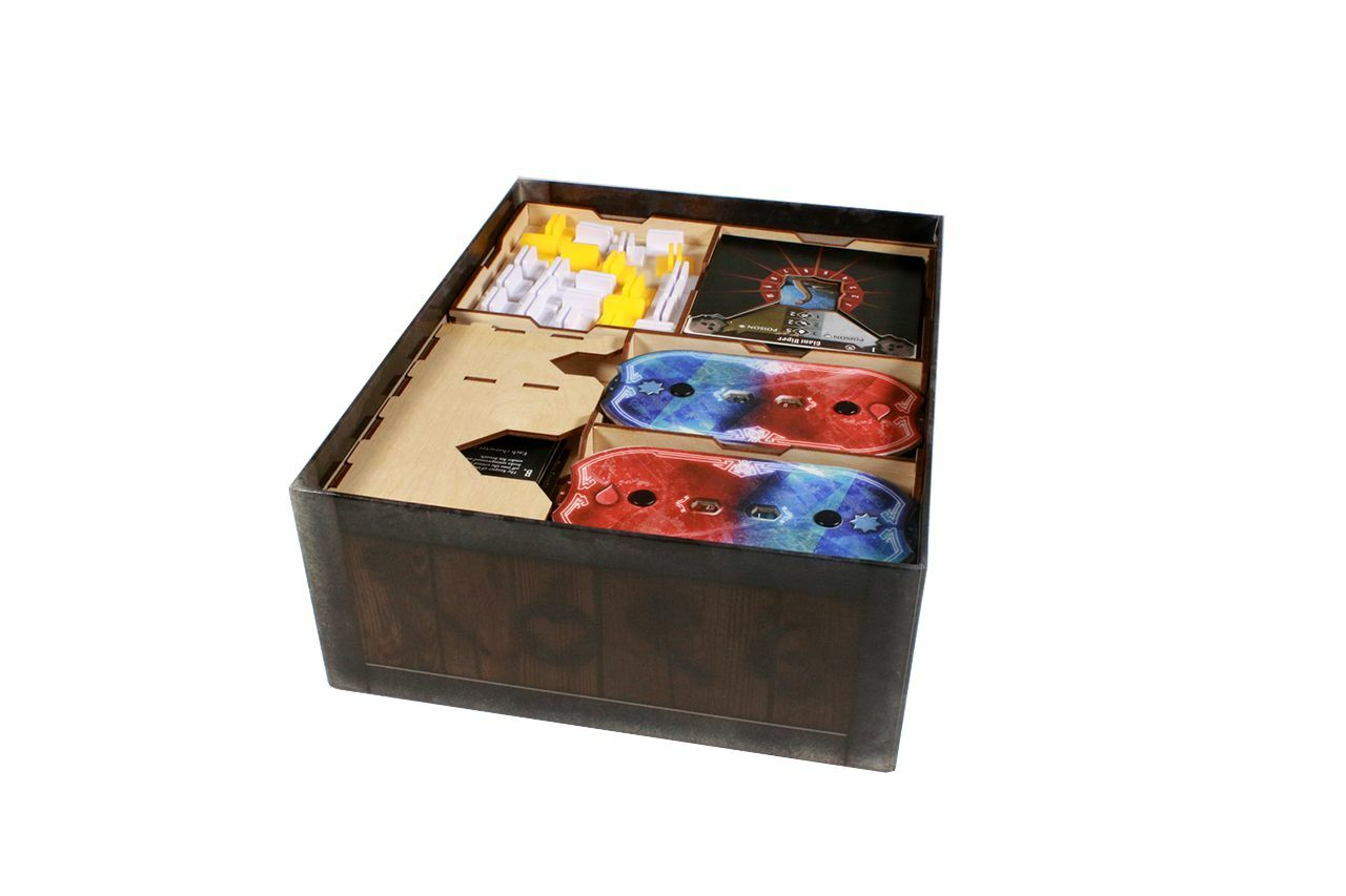 Game Organizer compatible with Jaws of the Lion