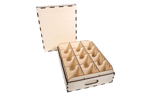 High Capacity Card Case- 3 Row - No Engraving (Blank)