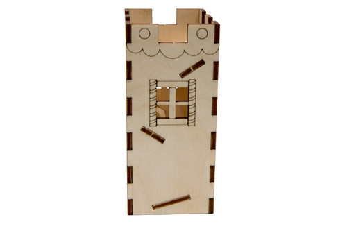 Holiday Mini Dice Tower Kit - Gingerbread