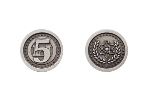 Fantasy Coins - Atomic Age 5 Value