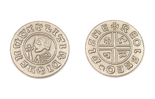 Viking Themed Gaming Coins - Large 30mm (9-Pack)