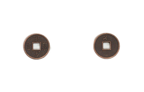 Mongol Themed Gaming Coins - Tiny 15mm (18-Pack)