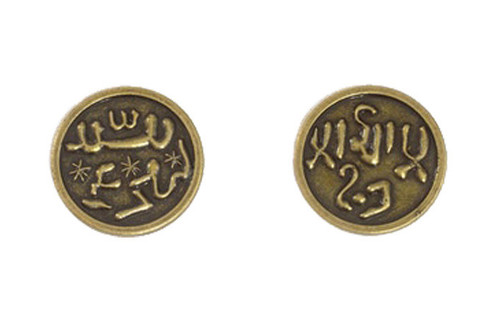 Mongol Themed Gaming Coins - Medium 25mm (12-Pack)