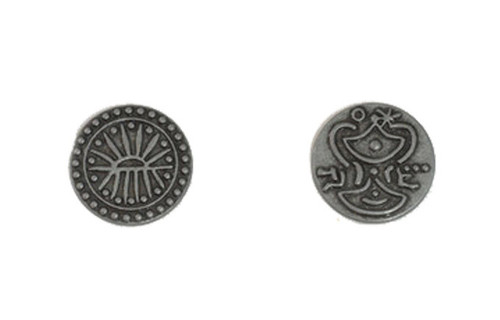 Indian Themed Gaming Coins - Small 20mm (15-Pack)