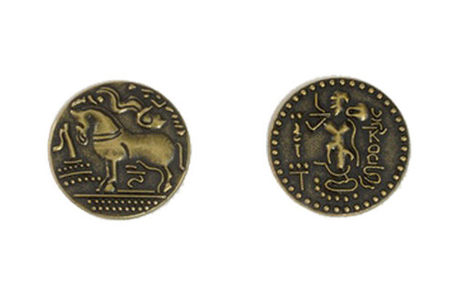 Indian Themed Gaming Coins - Medium 25mm (12-Pack)