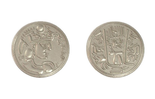 Indian Themed Gaming Coins - Large 30mm (9-Pack)