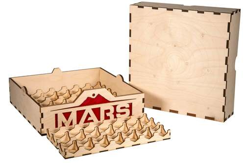 Terraforming Mars Crate Upgrade (Crate Shell + Tile Trays)