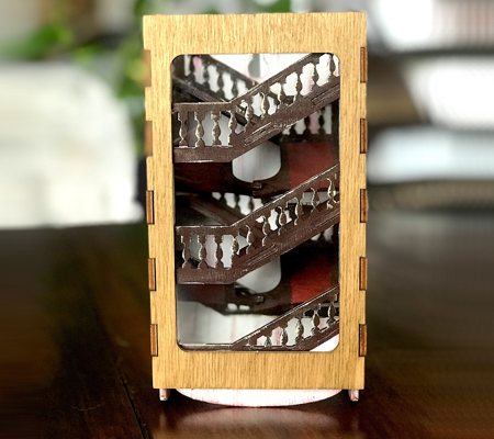 Paint Your Dice Tumbler: Stairs