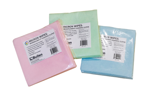 Micron Wipes: Microfilament Cleaning Cloths