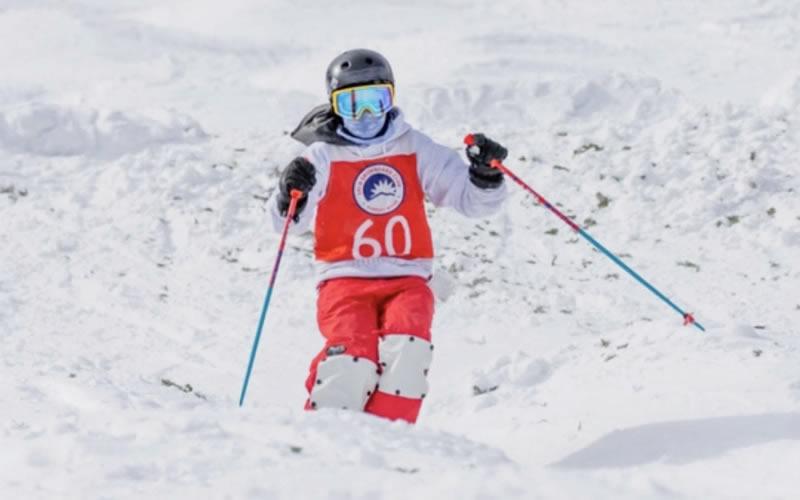 Hampton Knight skiing at Sunday River