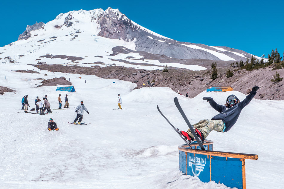 Lupe Haggearty Skier Timberline C Topher