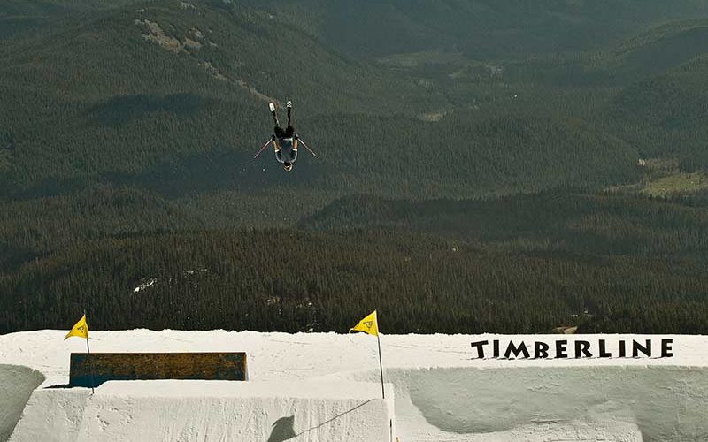 Nick Goepper backy in the air