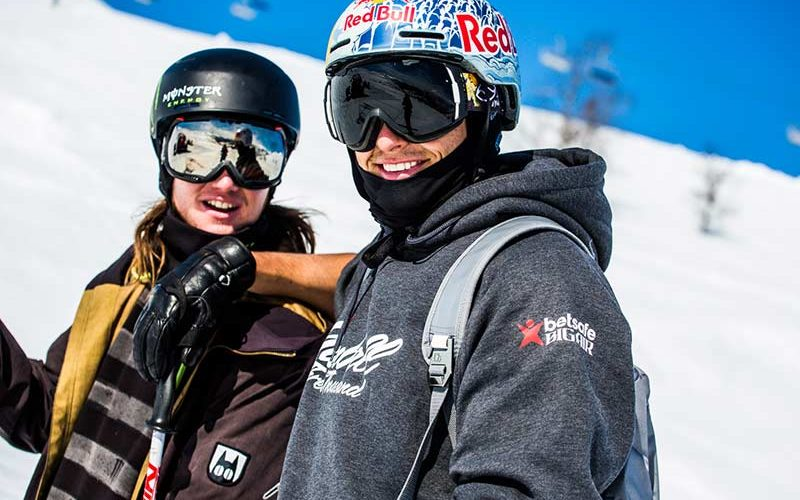Nick Goepper and James Woods