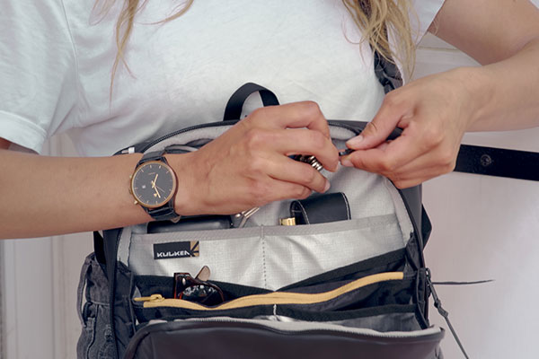 Kayda Travel Kit Organized Pockets