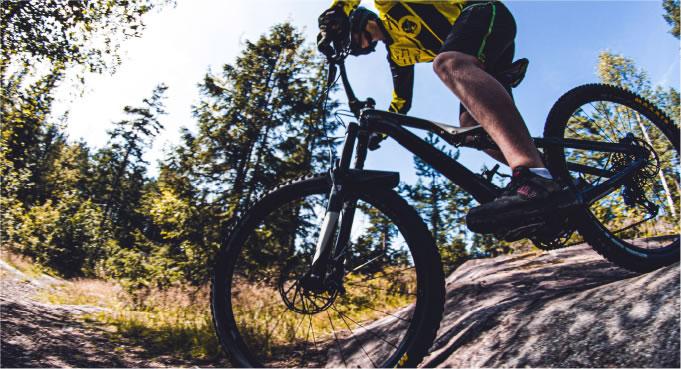 Biking with OTRmost Cycle Gear Bag by Kulkea