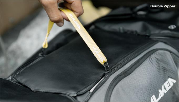 Double Zipper Opening Cycle Gear Bag Kulkea OTRmost