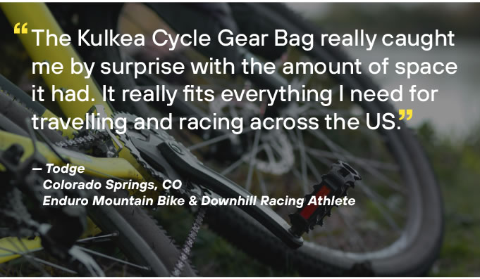 Surprising Amount of Space Cycle Gear Bag OTRmost