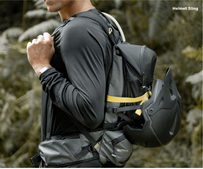 Helmet Slink Hydration Backpack Kulkea OTRmost