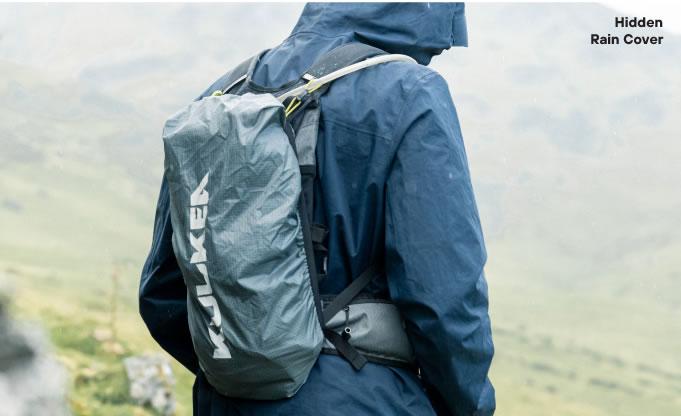 Hidden Rain Cover Hydration Backpack