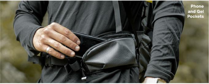 Phone and Gel Pockets Hydration Backpack Kulkea OTRmost