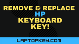 How To Remove Replace HP Individual Laptop Keyboard Keys