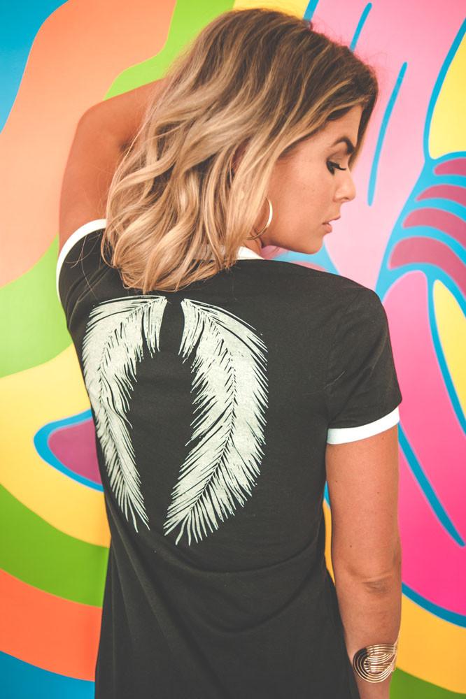 Desert Angel Ringer Dress