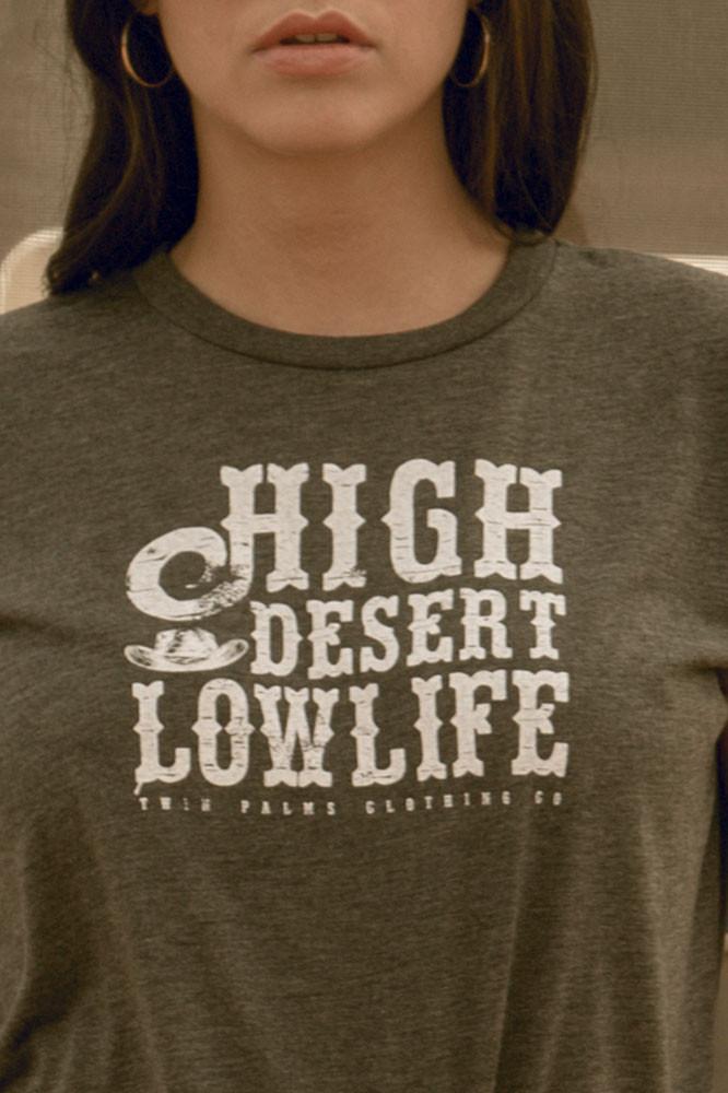High Desert Lowlife Muscle T