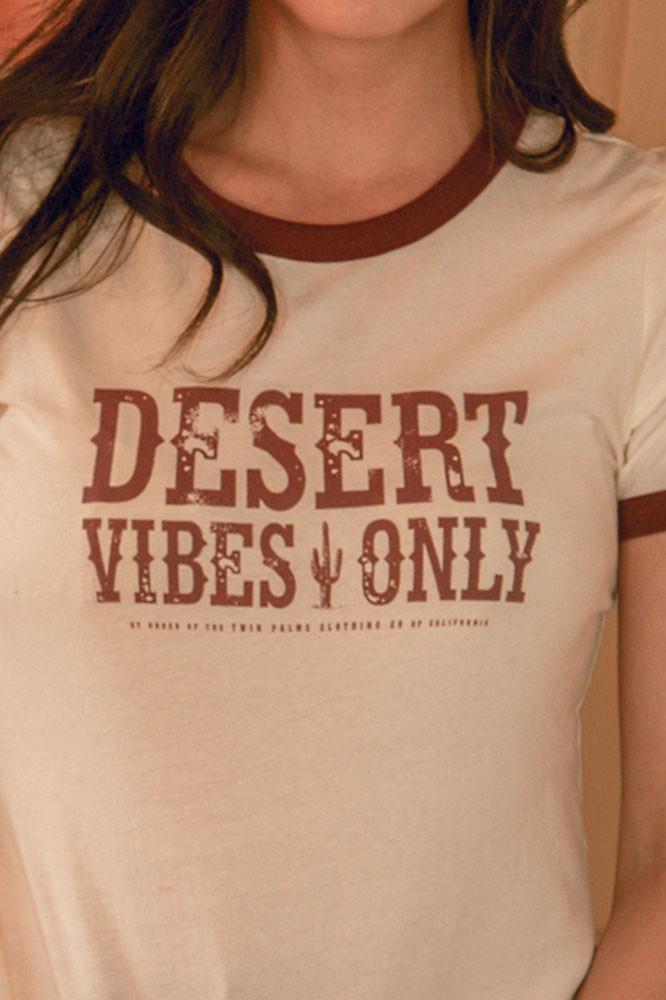 Desert Vibes Ringer T