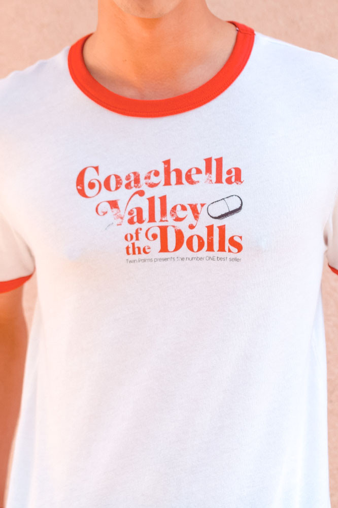 Valley Dolls Ringer T (Red)