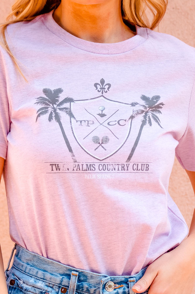 Country Club T (Lilac)