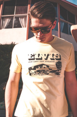 Elvis Modernism T (Yellow)