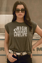 High Desert Lowlife Muscle T