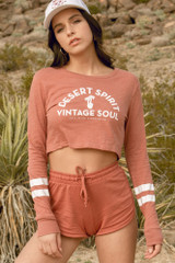 Spirit & Soul Cropped Long Sleeve