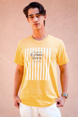 Cabana Crew Striped T (Yellow)