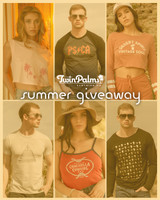 Enter the Twin Palms Summer Giveaway