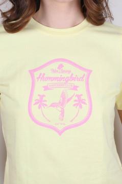 Hummingbird Watchers T (Yellow)