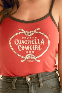 Coachella Cowgirl Cami Ringer