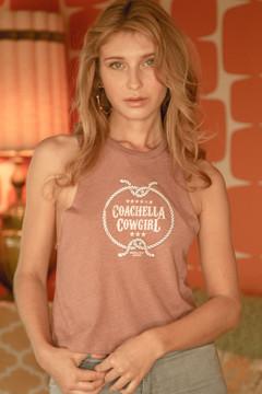 Coachella Cowgirl Racerback Tank