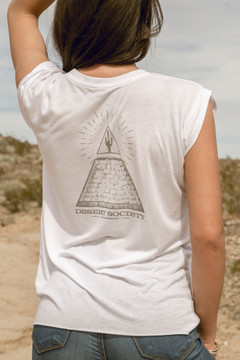 All Seeing Cactus Muscle T